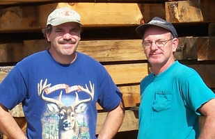 Terry & Rodney Frerichs, owners of Frerichs Sawmill in Coker Creek, TN.